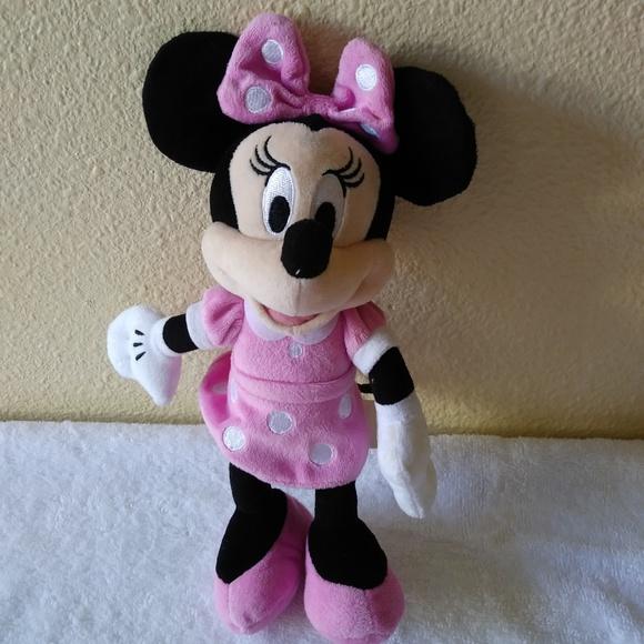 Disney Jr Minnie Mouse Plush Doll